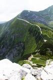 chata i berg, Slovakien Europa Royaltyfria Foton