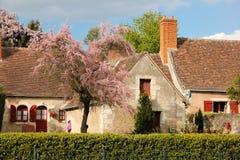 chata kolorowa Chenonceau Francja obrazy royalty free