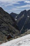 chata nas montanhas, Eslováquia Europa Foto de Stock
