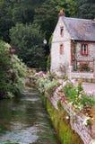 chata Normandia Fotografia Royalty Free