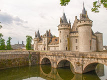 Chataeau Sully-s-Loire Royalty Free Stock Photos