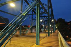 Chatanooga most Zdjęcie Stock
