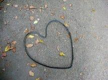 chatarra de la Corazón-forma fotografía de archivo