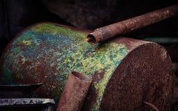 Chatarra oxidada vieja Fotos de archivo libres de regalías