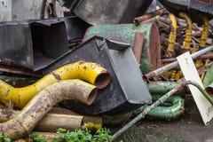 Chatarra oxidada vieja Fotografía de archivo libre de regalías