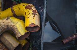 Chatarra oxidada vieja Fotografía de archivo