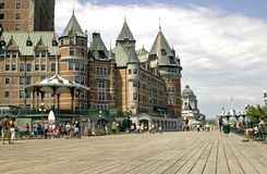 Chatau Frontenac Royalty Free Stock Photo