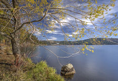 Chatcolet Lake in Heyburn State Park. Royalty Free Stock Photo