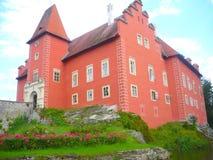 Chateau ÄŒervenà ¡ Lhota Stock Fotografie