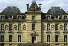 Chateau. France loire valley and centre chateau cheverny royalty free stock images
