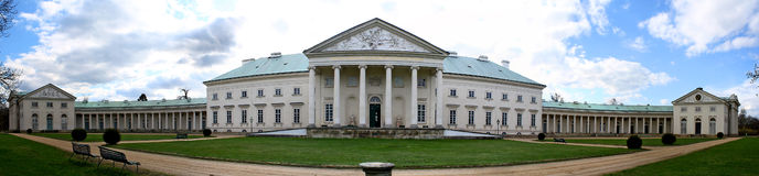Chateau. Historical chateau Kacina in the Czech Republic Stock Photography