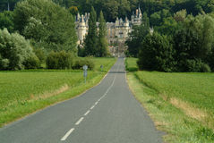Chateau. D'usse, indre et loire in the loire valley france Royalty Free Stock Photo