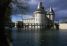 Chateau. Sully-sur-loire loire valley france stock image