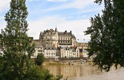 Chateau at Amboise Royalty Free Stock Image
