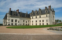 The chateau of Amboise. In the Loire valley, France Stock Images