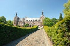 Chateau Arenbergh, België royalty-vrije stock afbeeldingen