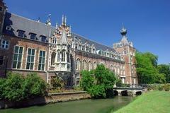 Chateau Arenbergh, Belgien Lizenzfreies Stockbild