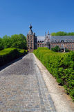 Chateau Arenbergh, Belgium. Chateau Arenbergh, Flanders, Belgium, a Renaissance and NeoGothical castle situated in the Arenbergh Park near the city of Louvain stock photo