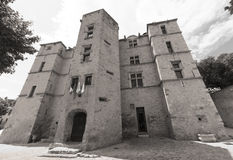 Chateau-Arnoux Stock Fotografie