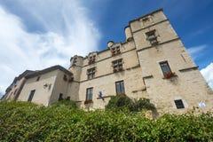 Chateau-Arnoux. (Alpes-de-Haute-Provence, Provence-Alpes-Cote d'Azur, France), the historic castle Stock Image