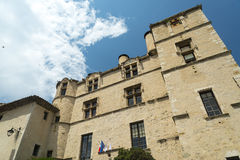 Chateau-Arnoux Royalty Free Stock Photography