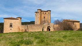 Chateau Arques Stock Images