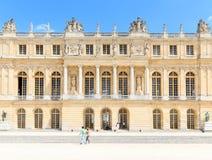 Chateau av Versailles, Versailles, Frankrike Royaltyfria Bilder