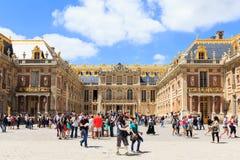 Chateau av Versailles, Versailles, Frankrike Arkivfoton