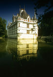 Chateau Azay-le-Rideau Stock Photo