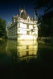 Chateau azay-le-Rideau Stock Foto