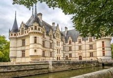 Chateau Azay Le Rideau fotografia stock libera da diritti