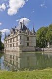 Chateau Azay-le-Rideau, France Stock Photos