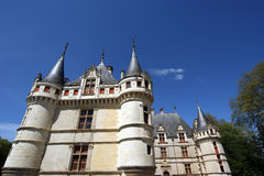 Chateau Azay-le-Rideau, Loire, France Stock Photo
