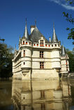 Chateau Azay-le-Rideau, Loire, France Stock Image