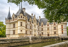 Chateau Azay le Rideau Royalty Free Stock Photography