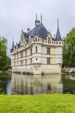 Chateau azay-le-Rideau, vroegste Franse chateaux royalty-vrije stock afbeelding