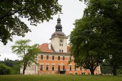 Chateau Bechyne. View on the chateau Bechyne in the Czech republic Royalty Free Stock Images