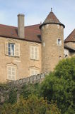 Chateau Berze-le-Chatel Royalty Free Stock Image