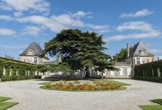 Chateau Beychevelle Saint Julien Stock Images