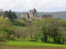 Chateau, Beynac-et-Cazenac (France ) Stock Images