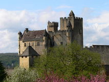 Chateau, Beynac-et-Cazenac (France ) Royalty Free Stock Photos