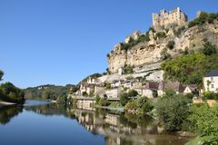 Chateau Beynac Stock Photo