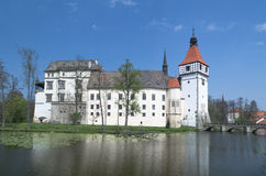 Chateau Blatna Lizenzfreie Stockbilder