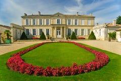 Chateau Branaire-Ducru nella regione Medoc, Francia Fotografia Stock