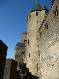 Chateau of Carcassonne Royalty Free Stock Photo