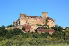 Chateau Castelnau Bretenoux Fotografia Stock
