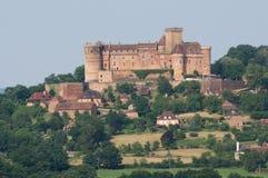 Chateau Castelnau de Bretenoux, France Royalty Free Stock Image
