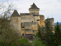 Chateau, Castelnaud-la-Chapele ( France ) Royalty Free Stock Photography