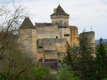 Chateau, Castelnaud-la-Chapele ( France ) Royalty Free Stock Photography