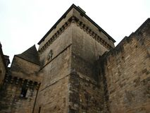 Chateau Castelnaud Royalty Free Stock Images